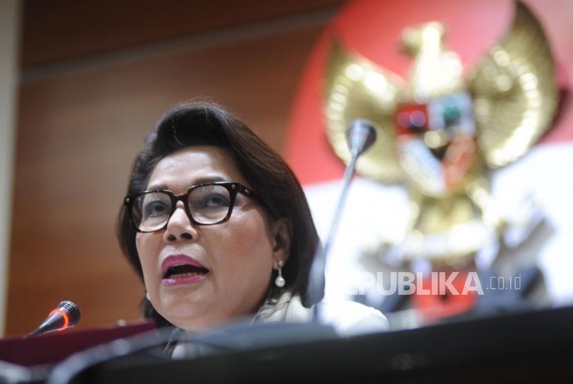 Wakil Ketua KPK  Basaria Pandjaitan