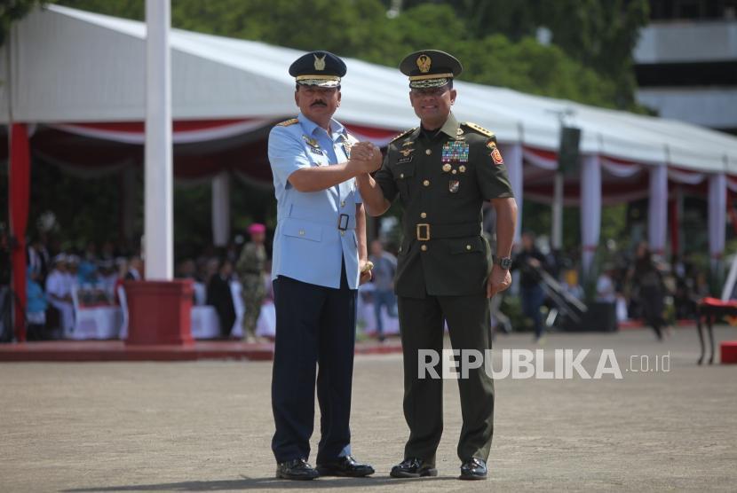 Pesan Prabowo untuk Marsekal Hadi dan Jenderal Gatot
