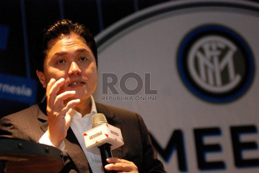 Erick Optimistis Inter Lolos Liga Champions Musim Depan