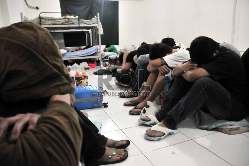 Warga Cina yang bermasalah di Indonesia (ilustrasi).