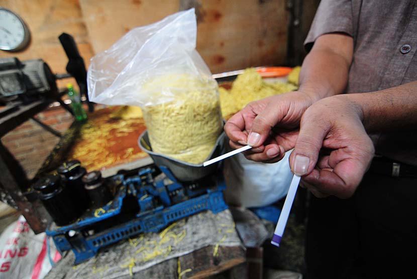 Polres Tasikmalaya Sidak Antisipasi Penjualan Mi Berformalin