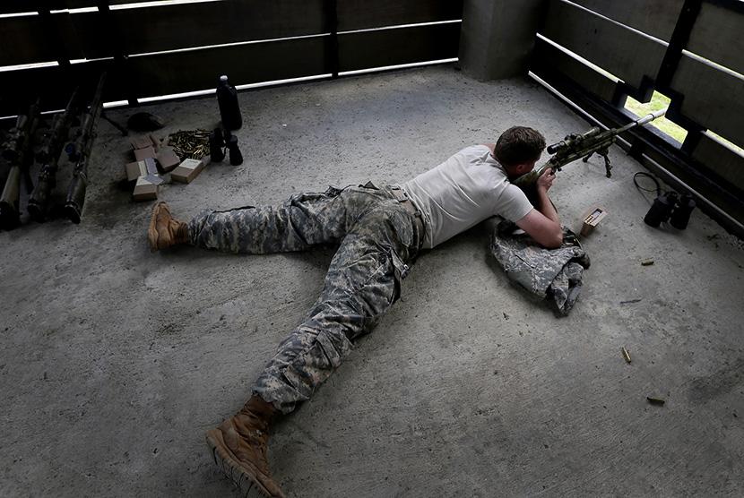 Sniper.     (ilustrasi)