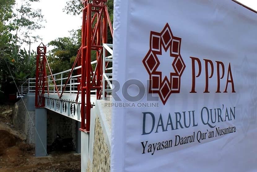 Yayasan PPPA Daarul Quran  (Republika/Agung Sasosngko)