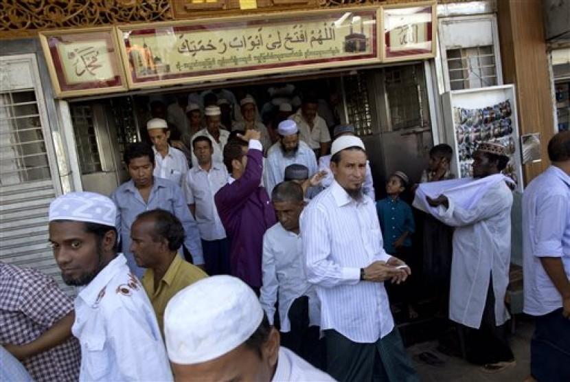 Muslim in Yangon, Myanmar.