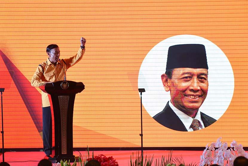 Wiranto Janji Selesaikan Konflik Internal Partai Hanura