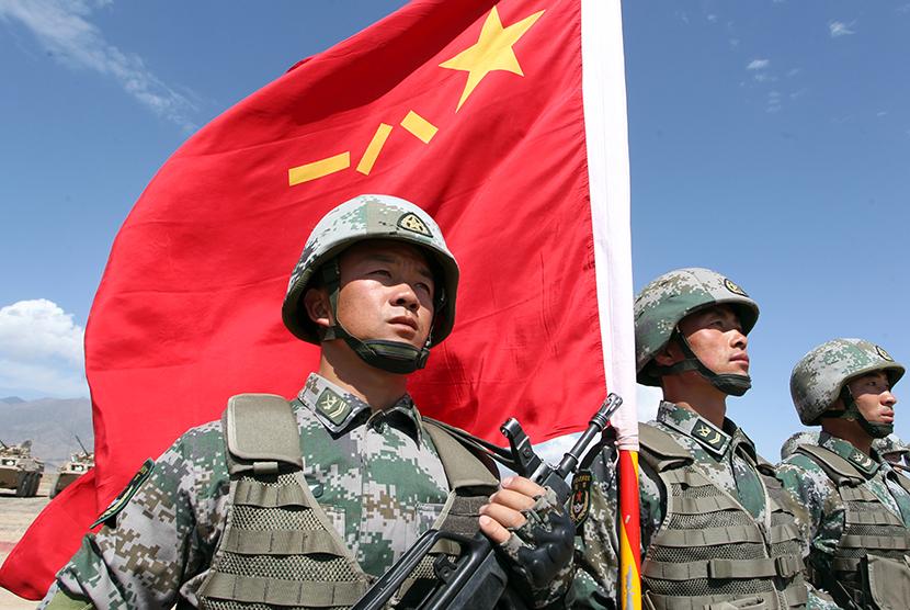Militer Cina (ilustrasi)