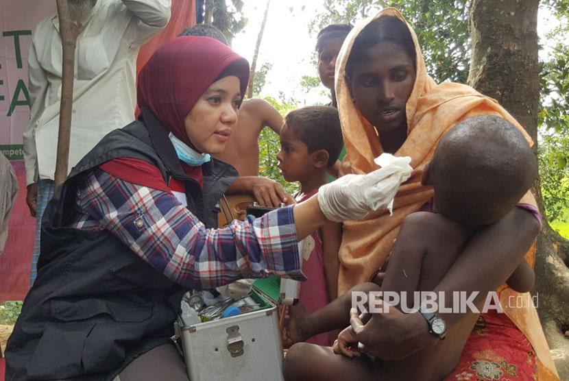 Dompet Dhuafa Luncurkan Mobile Clinic untuk Rohingya