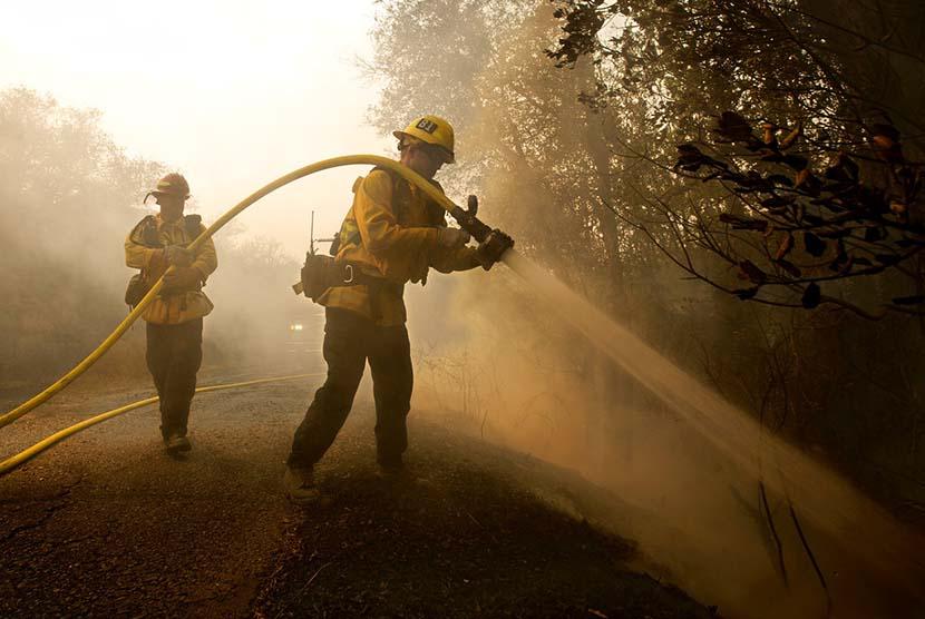 Kebakaran Kalifornia, Polisi Tangani 300 Kasus Orang Hilang