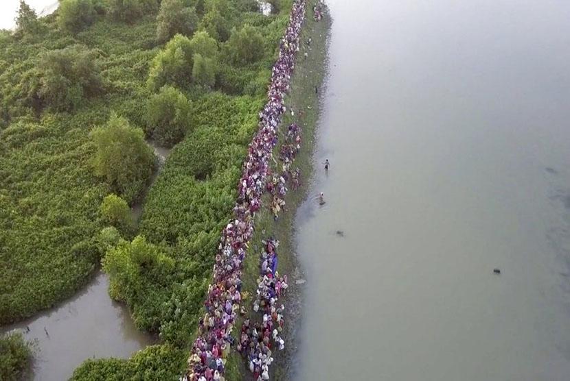 PBB: 100 Pengungsi Rohingya Tewas Tenggelam dalam Dua Bulan