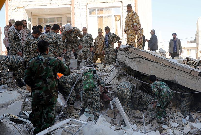 Gempa di Perbatasan Irak-Iran Mirip Gempa Nepal 2015