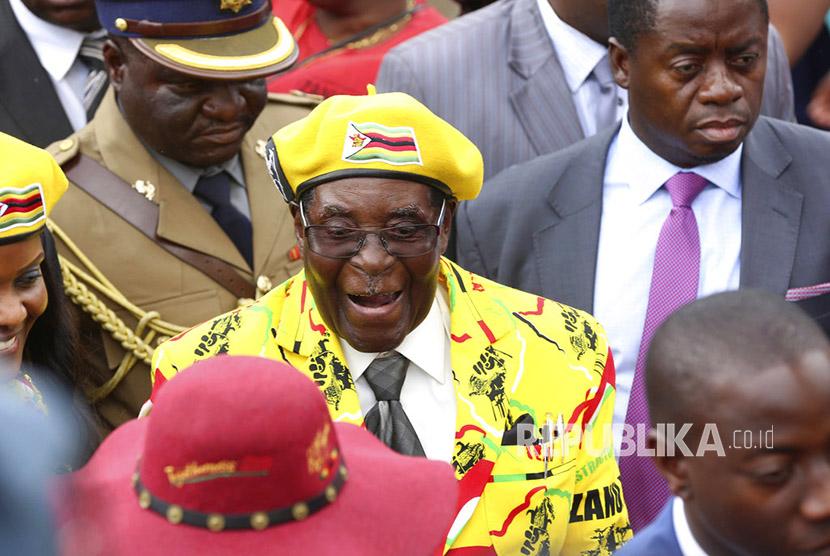 Militer Zimbabwe: Mugabe dalam Kondisi Aman