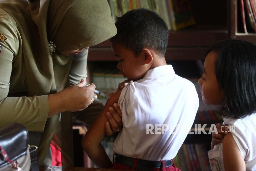 Kemenkes Usulkan Skrining Imunisasi Anak Masuk Sekolah