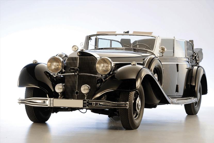 Mobil Super Mercedes Adolf Hitler Segera Dilelang