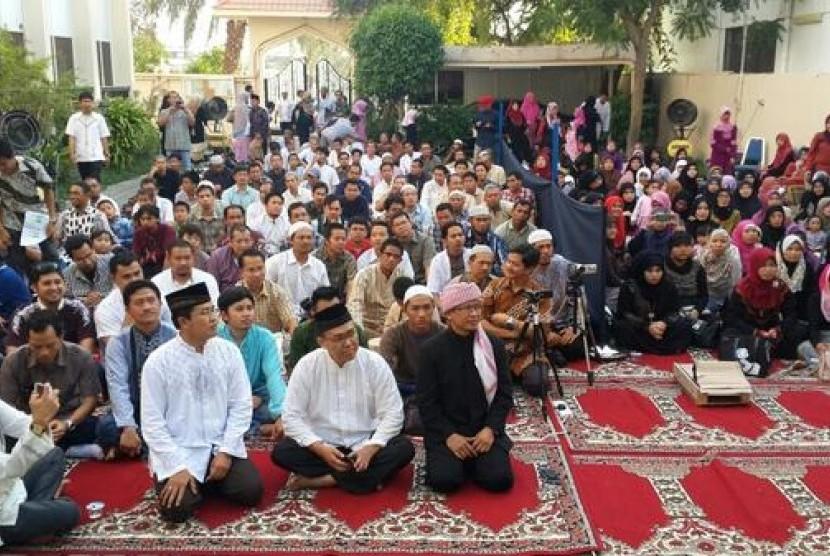 Tabligh di Kedutaan Besar Republik Indonesia (KBRI) di Abu dhabi, UEA. (Ilustrasi)