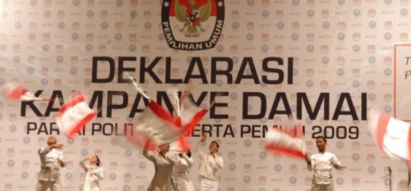 Acara kampanye damai Pemilu 2009/Ilustrasi