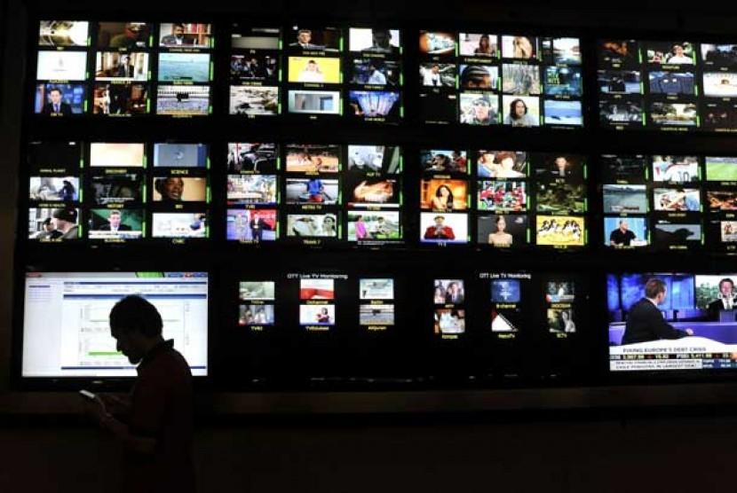 Acara program televisi.   (ilustrasi)
