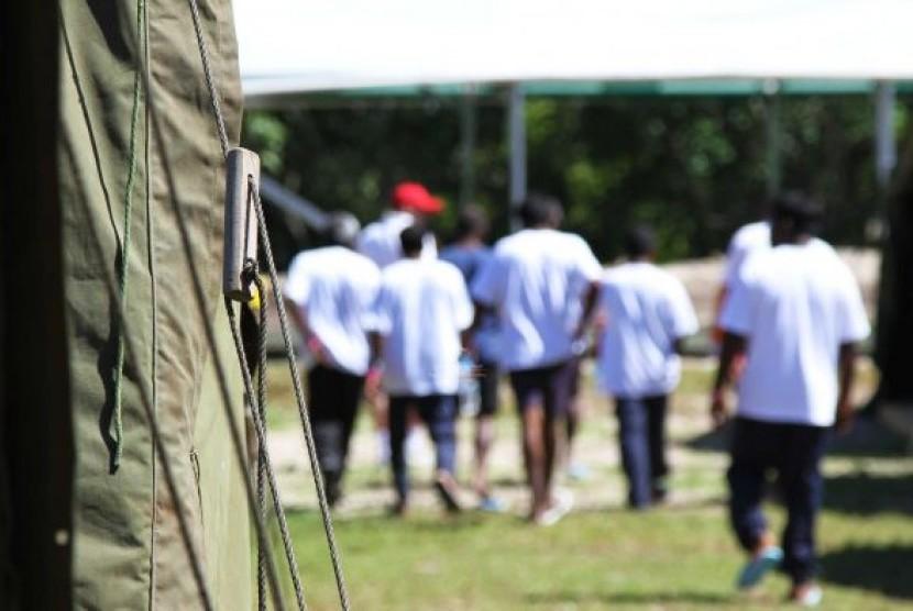 Ada lebih dari 200 pengungsi Tamil di Nauru dan Manus Island.
