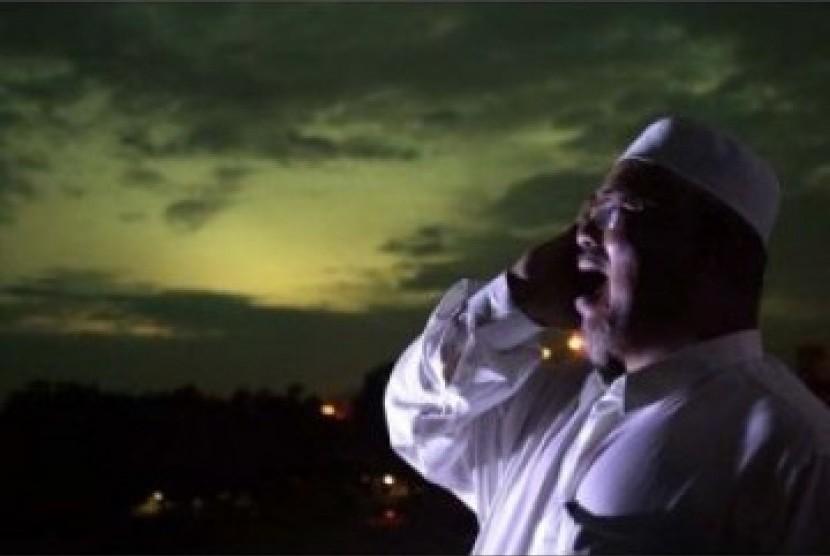 Adzan yang menjadi siaran paling ditunggu saat Ramadhan (Ilustrasi)