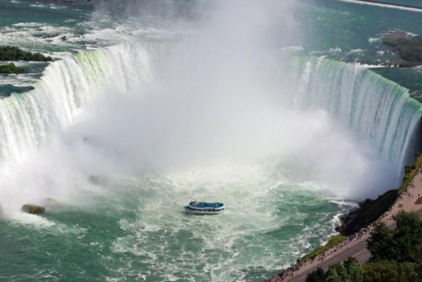 Air terjun Niagara di Amerika Serikat
