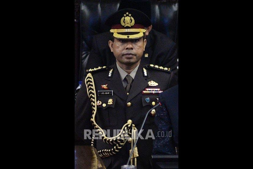 Ajudan Presiden Joko Widodo, Kombes Johnny Eddison Isir