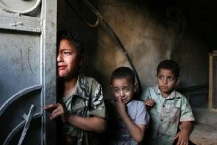 Akibat blokade, warga Jalur Gaza harus menghadapi penderitaan berkepanjangan.