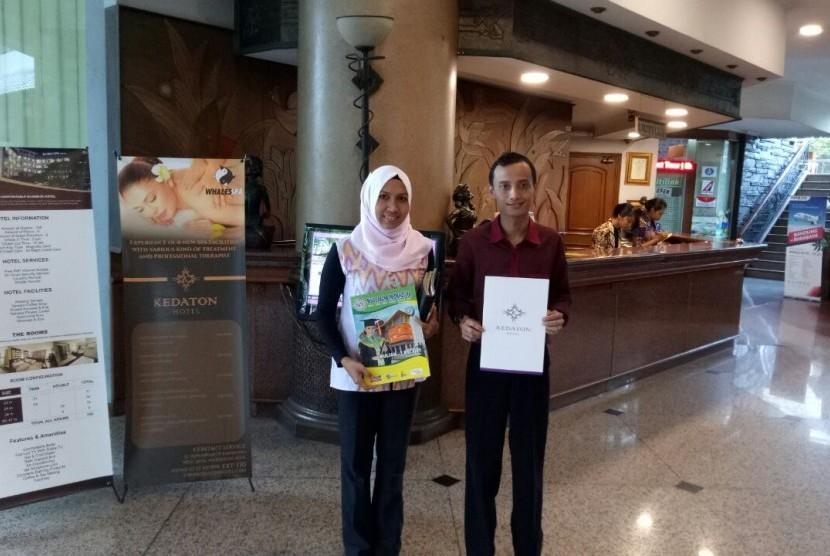 AKPAR BSI Bandung meneken nota kesepahaman (MoU) dengan Hotel Kedaton.