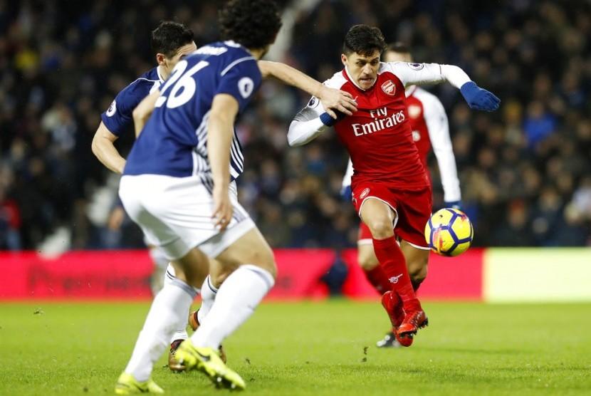 Arsenal Ditahan Imbang WBA, 1-1