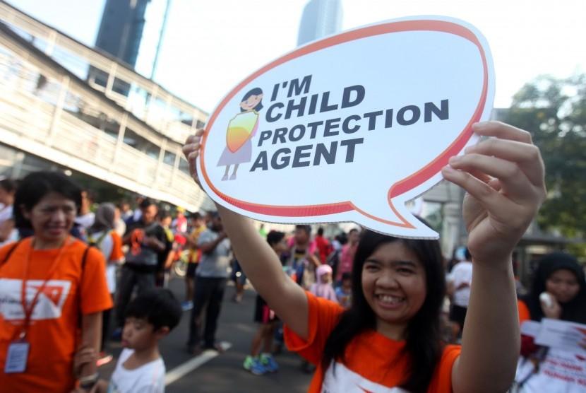 Aksi untuk memperingati Hari Anak. (Ilustrasi)