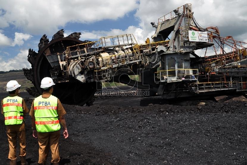 Aktivitas di tambang batu bara. (ilustrasi)