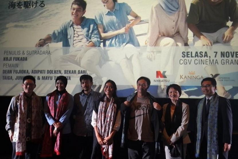 Aktor Indonesia Adipati Dolken bermain dalam film kerja sama Indonesia-Jepang yang berjudul Laut.