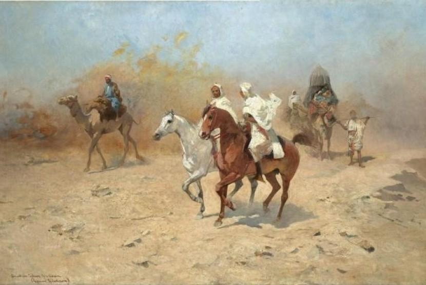 Al-Barra' adalah salah seorang sahabat Rasulullah SAW yang juga pahlawan perang.