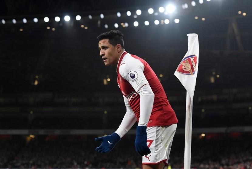 Wenger Mulai Ragukan Nasib Alexis Sanchez