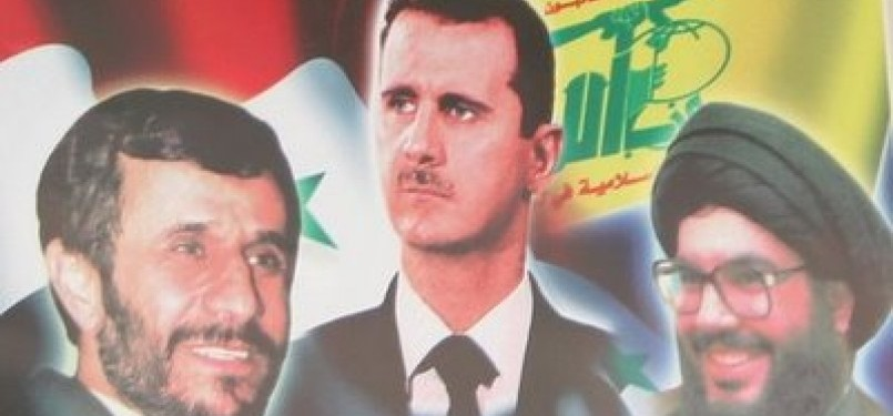 Aliansi Iran-Suriah-Hizbullah (ilustrasi)