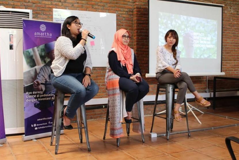 Amartha mengadakan acara bulanan-Amartha Morning Coffee Session di kantor pusat Amartha-Jakarta Selatan, akhir pekan kemarin.