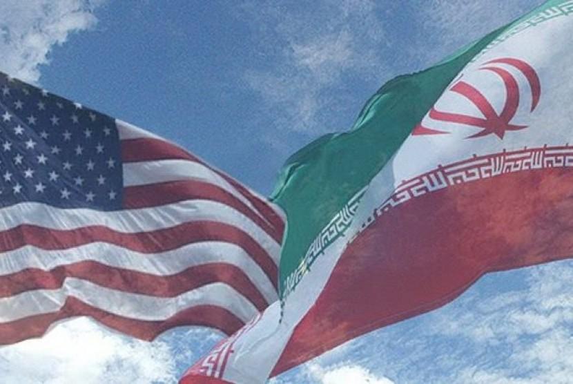 Amerika Serikat dan Iran (ilustrasi)