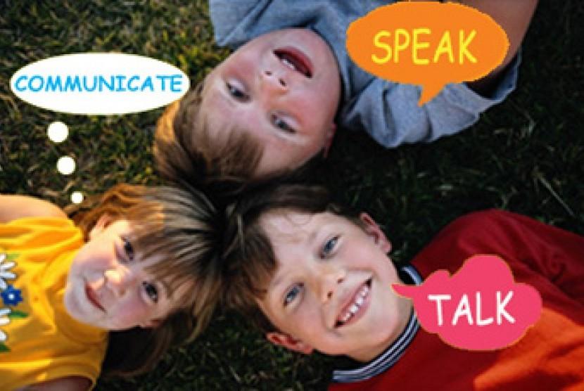 Anak-anak belajar bahasa Inggris/ilustrasi