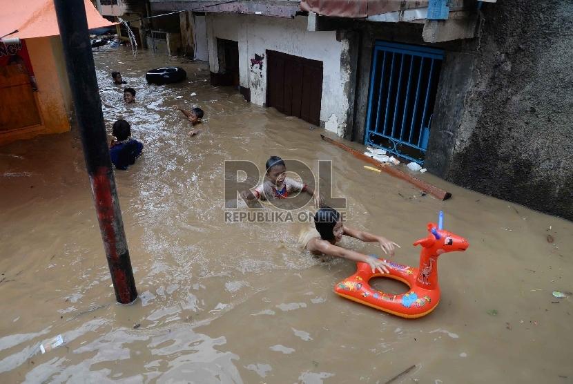 Banjir Kampung Pulo/ilustrasi