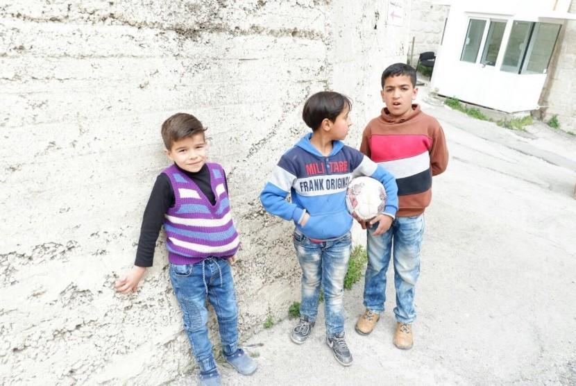 Perlindungan HAM Bagi Anak-Anak Palestina