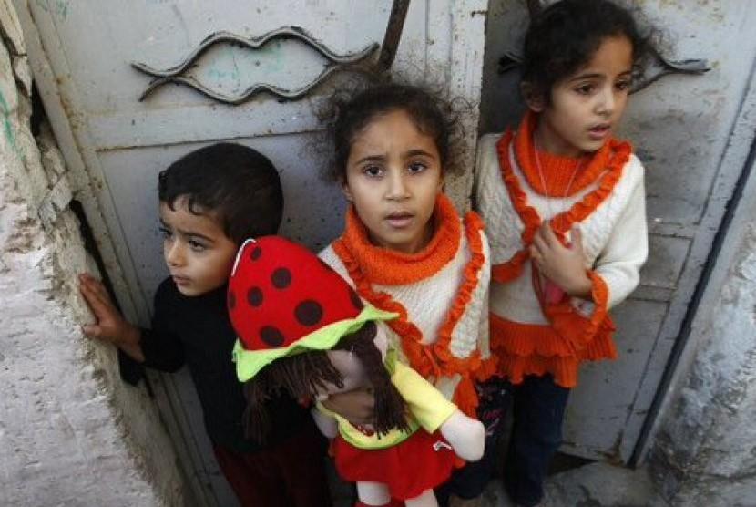 UNICEF: 25 Anak Palestina Tewas Akibat Serangan Israel