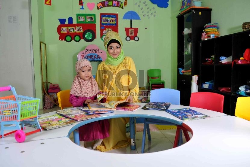 Anak bersekolah di PAUD
