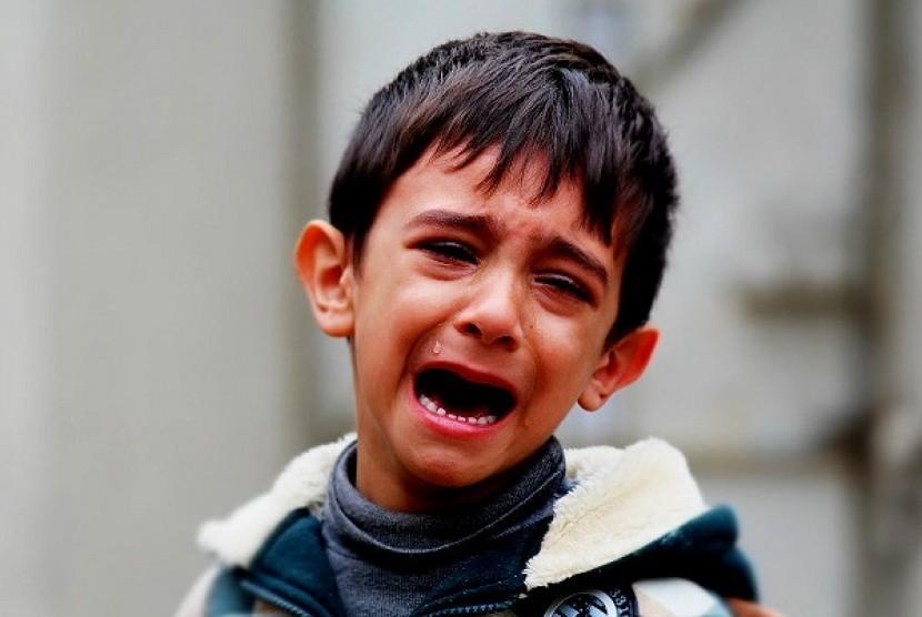 Anak depresi (ILustrasi)