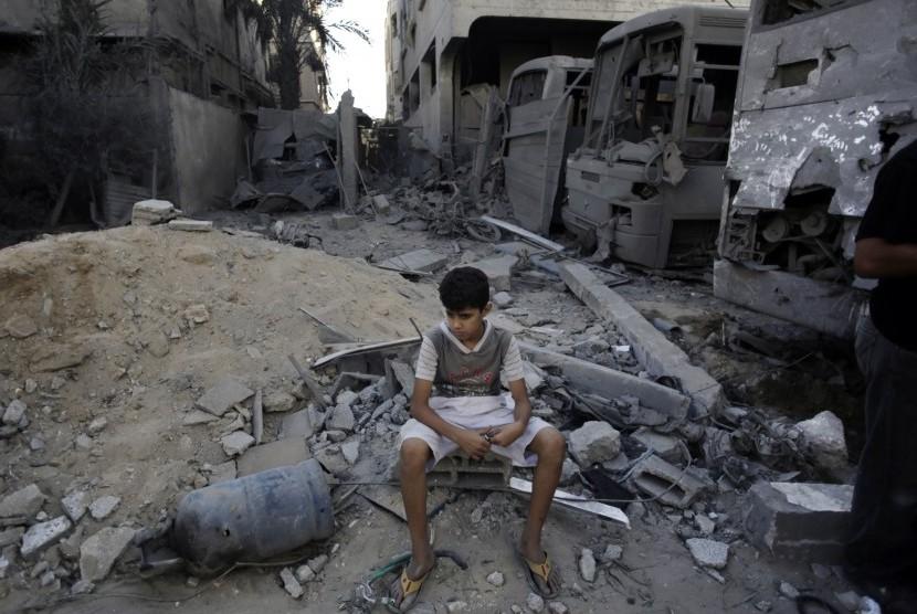 Serangan Israel yang Mengubah Mimpi Anak-Anak Gaza