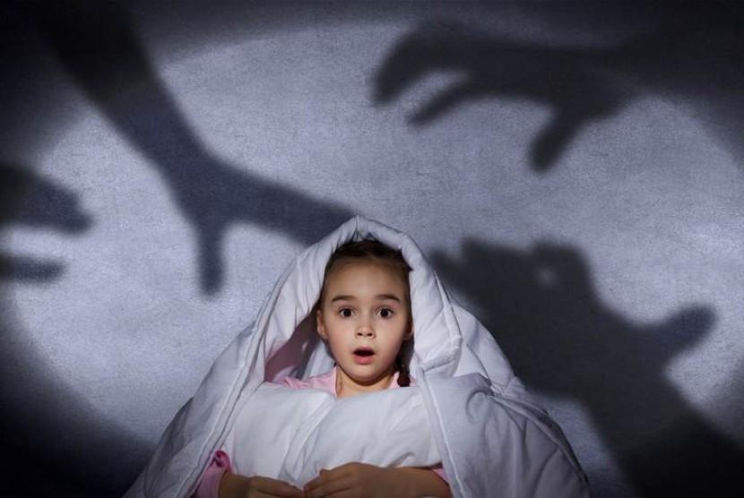 Anak kerap mengalami mimpi buruk/ilustrasi