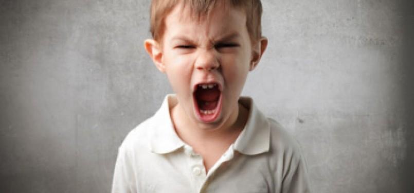 Anak marah