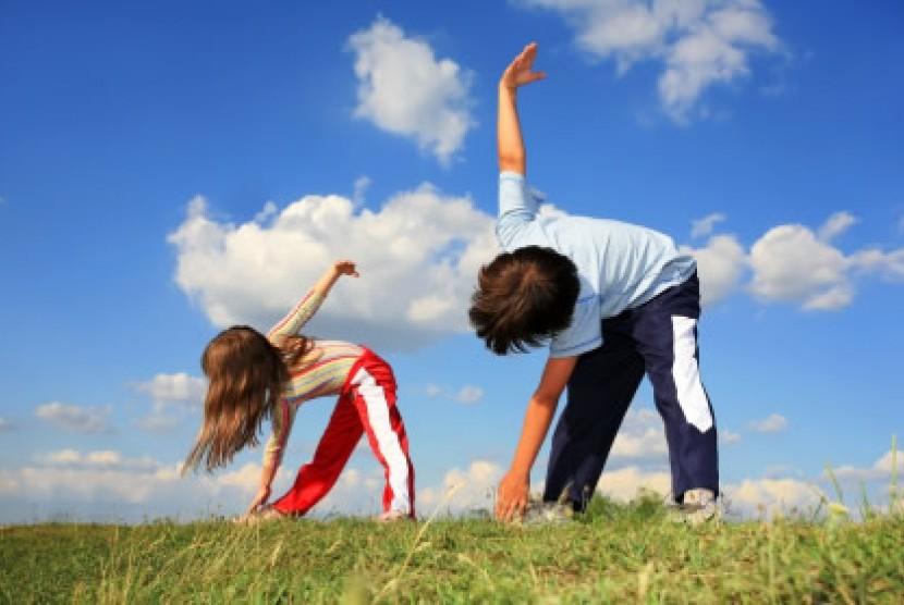 Anak sehat/ilustrasi