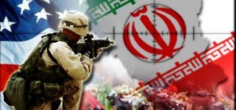 Ancaman perang AS melawan Iran (ilustrasi)