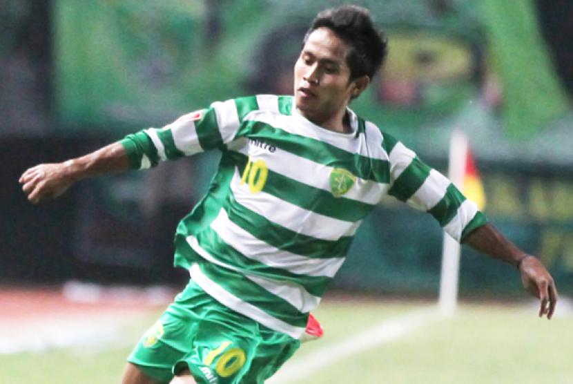 Madura United Ingin Pulangkan Andik Vermansah ke Tanah Air