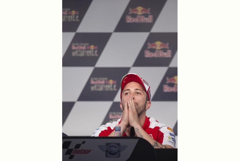 Dovizioso Tetap Optimistis Tatap Balapan MotoGP di Sepang