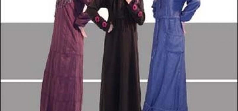 Aneka model busana Muslim/ilustrasi