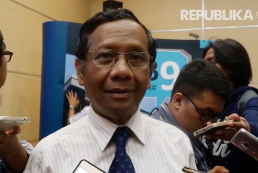 Anggota Dewan Pengarah Unit Kerja Presiden dan Pembinaan Ideologi Pancasila (UKP-PIP) Mahfud MD